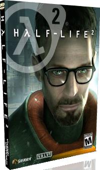Half-life 2 обложка DVD